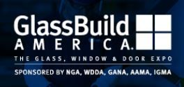 logo of GlassBuild trade fair America