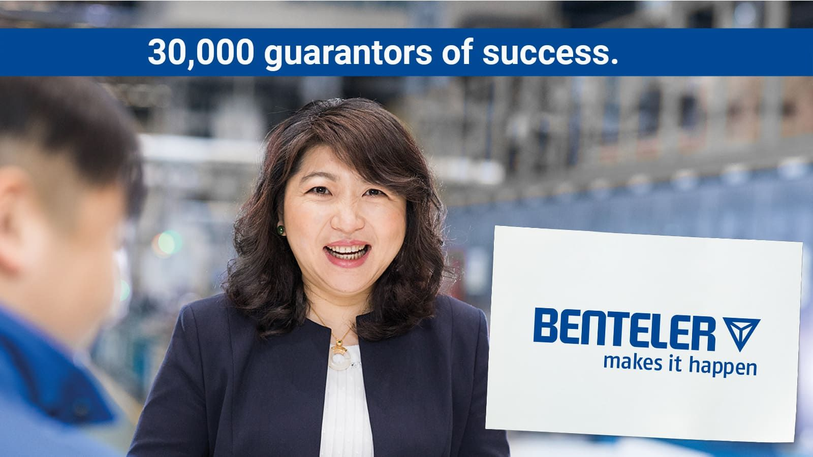 portrait of the BENTELER employee Grace Hu