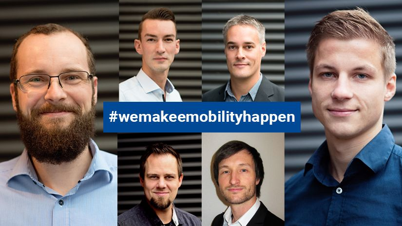 Our team of the BU Electro-Mobility